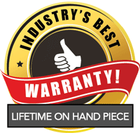 Industry's Best Warranty! Lifetime on Hand Piece